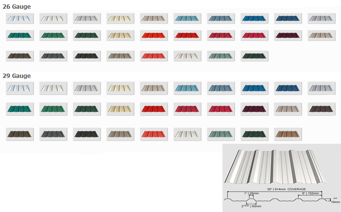 Sheet Metal K2 Roofing